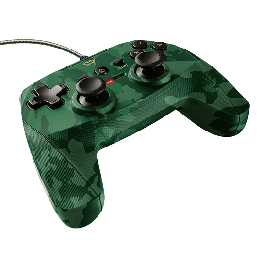 Joystick Trust GXT 540C Yula, Wired, Compatible PC y PS3, Green Camo - Image 5