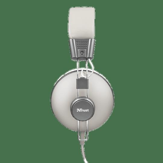 Audifono Urbano Retro Ivory Noma Over-ear Trust - Image 2