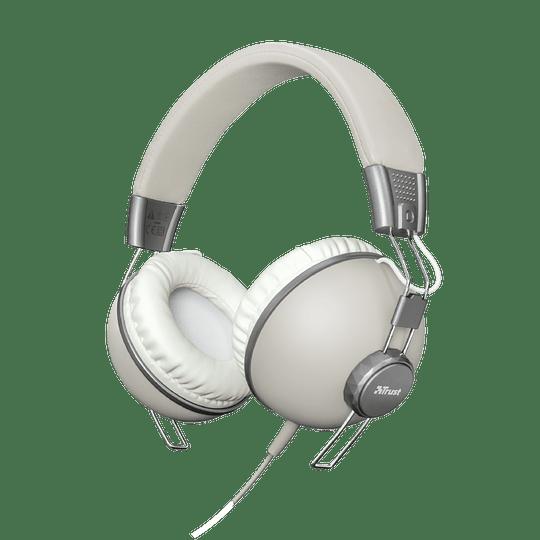 Audifono Urbano Retro Ivory Noma Over-ear Trust - Image 4