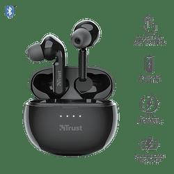 Audífonos Bluetooth New Nika Xp Touch Trust Negro