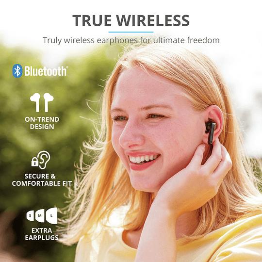 Audífonos Bluetooth New Nika Xp Touch Trust Negro - Image 6