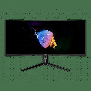 Monitor Gamer Curvo 34 in 3440x1440 UWQHD VA/100Hz MSI