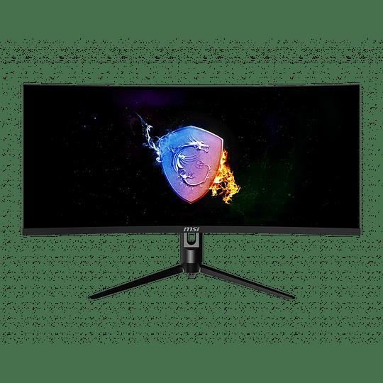 Monitor Gamer Curvo 34 in 3440x1440 UWQHD VA/100Hz MSI - Image 1