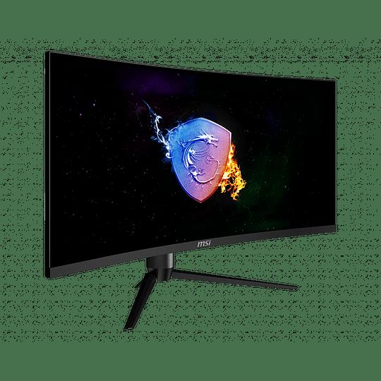 Monitor Gamer Curvo 34 in 3440x1440 UWQHD VA/100Hz MSI - Image 3