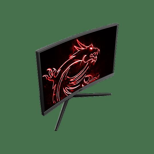 "Monitor Gamer Curvo MSI Optix G24C4 de 24"" (VA, Full HD, 144Hz, 1ms, FreeSync, dPort+HDMI) - Image 4"