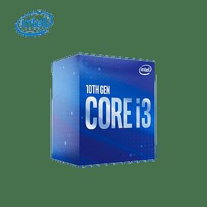 Procesador Intel® Core i3-10100F (6M Cache, up to 4.30 GHz) LGA1200, Sin Graficos