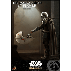 The Mandalorian and The Child Deluxe HOT TOYS