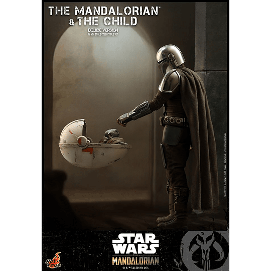 The Mandalorian and The Child Deluxe HOT TOYS - Image 1
