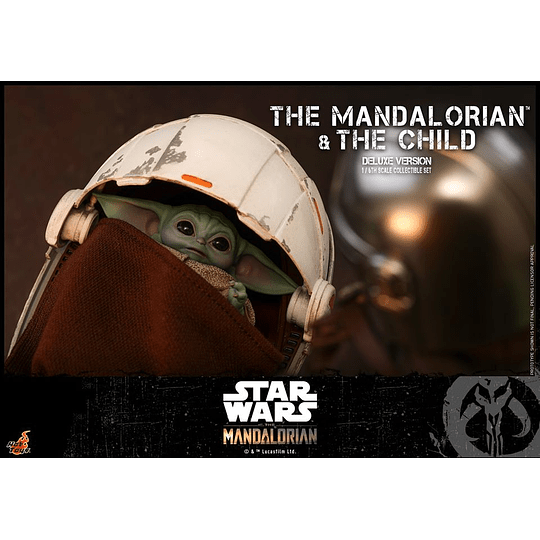 The Mandalorian and The Child Deluxe HOT TOYS - Image 2