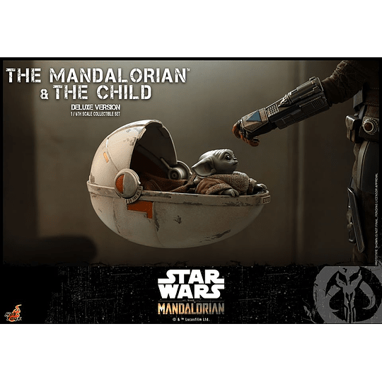 The Mandalorian and The Child Deluxe HOT TOYS - Image 3