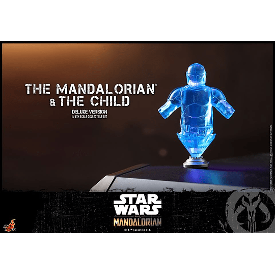 The Mandalorian and The Child Deluxe HOT TOYS - Image 4