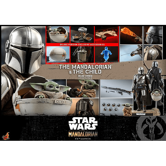 The Mandalorian and The Child Deluxe HOT TOYS - Image 5