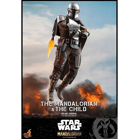 The Mandalorian and The Child Deluxe HOT TOYS - Image 6