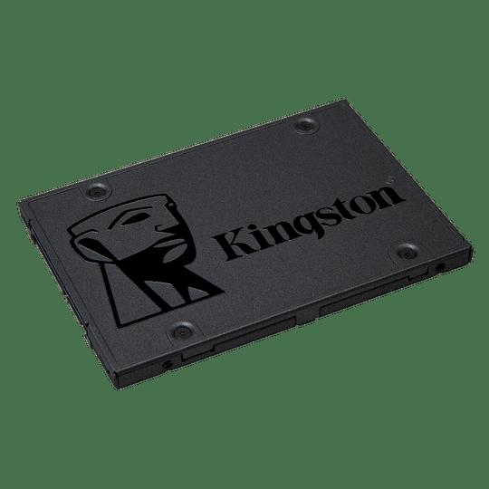 Disco SSD 480GB  Kingston Sata3 2.5 7mm 500MB/450MB L/E A400 - Image 1