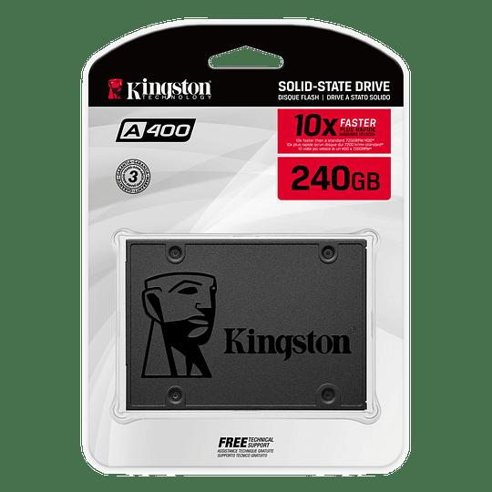 Disco SSD 240GB  Kingston Sata3 2.5 7mm 500MB/450MB L/E A400 - Image 4