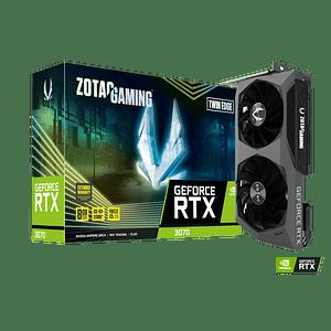 Tarjeta de video Zotac GeForce RTX 3070 Twin Edge LHR, 8GB, GDDR6, 256-Bit, HDMI