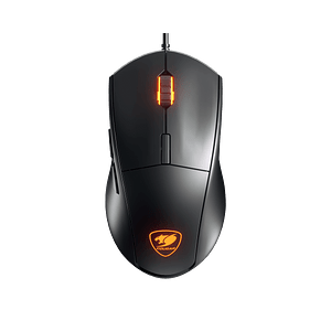Mouse Gamer Cougar Minos XT, Óptico, 6 Botones, 4000 DPI, RGB, Negro