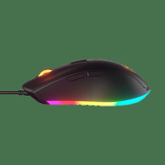 Mouse Gamer Cougar Minos XT, Óptico, 6 Botones, 4000 DPI, RGB, Negro - Image 2