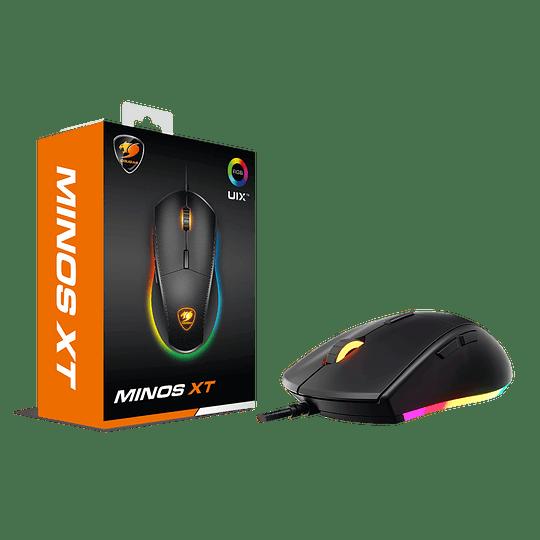 Mouse Gamer Cougar Minos XT, Óptico, 6 Botones, 4000 DPI, RGB, Negro - Image 8