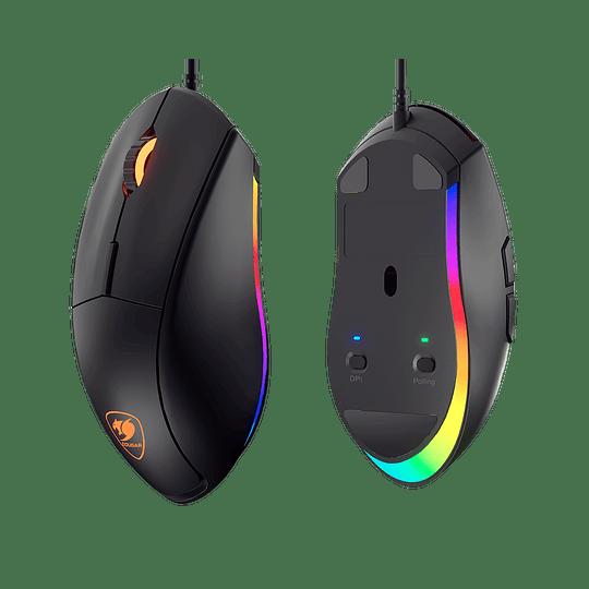 Mouse Gamer Cougar Minos XT, Óptico, 6 Botones, 4000 DPI, RGB, Negro - Image 10