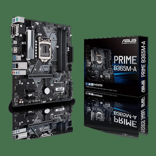Placa Madre ASUS Prime B365M-A, Intel LGA-1151 mATX Aura Sync RGB, DDR4 2666MHz, Intel Optane Ready - Image 1