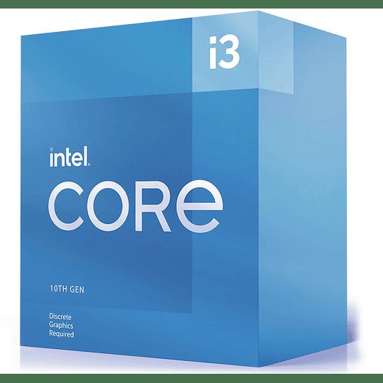 Procesador Intel® Core™ i3-10105F 4 Core 3,7Ghz (6M Cache, Up to 4.4Ghz) LGA1200 Sin Graficos - Image 1