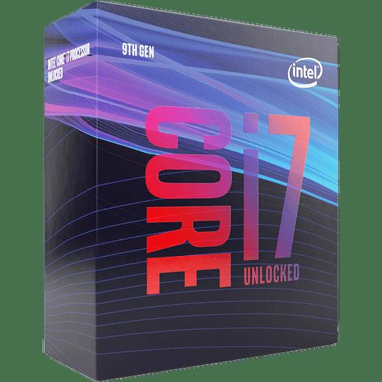 Procesador Intel® Core™ i7-9700F, 8-Core 3.0GHz (4.7GHz Turbo) LGA1151-v2 (9na Gen), Sin Graficos - Image 1