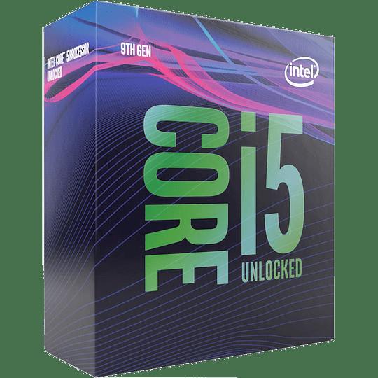 Procesador Intel® Core™ i5-9600K 6 Core, 6 Threads, 3.7GHz (4.6GHz Turbo), FCLGA1151, 95W, Sin Fan - Image 1