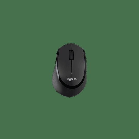 Kit Combo Teclado y Mouse Logitech MK345, Inalámbrico, USB 2.0, Negro/Azul - Image 4