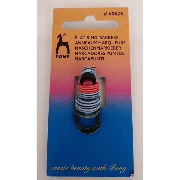 Marcadores Flat Ring Pony