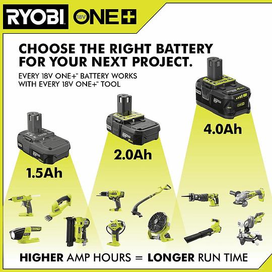 Batería RYOBI 18V ONE+ 4.0 Ah