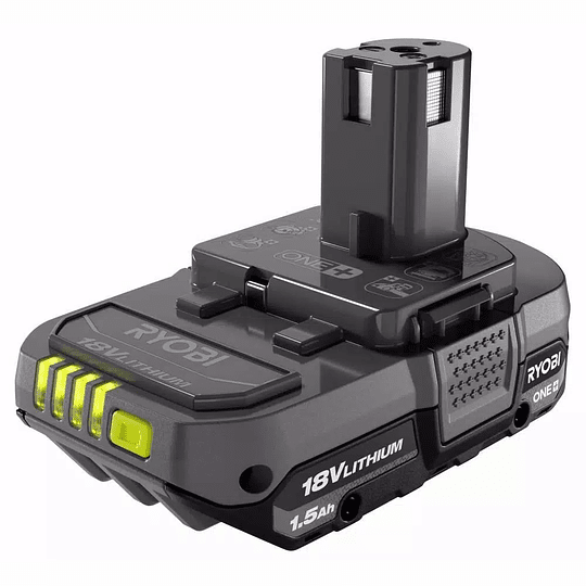 Kit de Taladro Atornillador + Atornillador de Impacto Inalámbricos RYOBI P1817