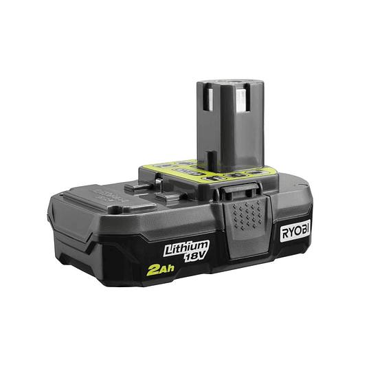Cargador Rápido + Batería RYOBI 18V ONE+ 2.0 Ah