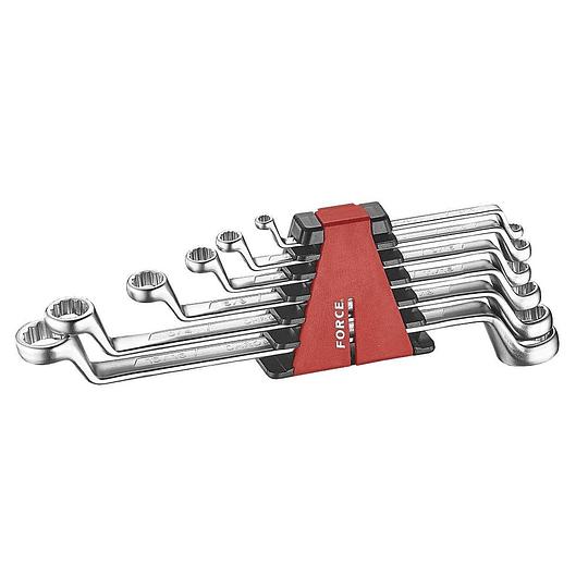 Juego de llaves de corona 6 piezas