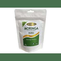 Moringa Orgánica  polvo 100 gr -  procedencia  India, certificación USDA