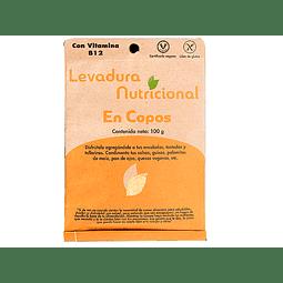 LEVADURA NUTRICIONAL EN COPOS - 100 gr - (con vitamina B 12)