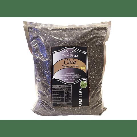 Semilla Chía Orgánica 1 Kg