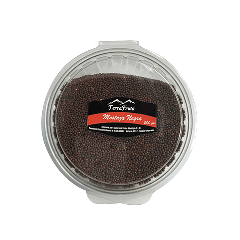 Semilla Mostaza Negra granel 200 gr - granel