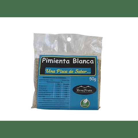 Pimienta Blanca Molida 50 gr - granel