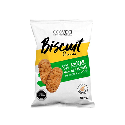 Biscuit Quinoa sin azúcar 150 gr  Galleta