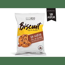Biscuit Chip Chocolate sin azúcar 150 gr Galleta