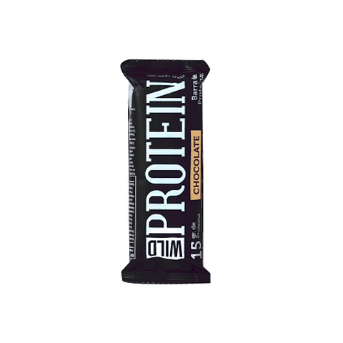 Barra Proteina 15gr Chocolate Wild Protein - 45 gr