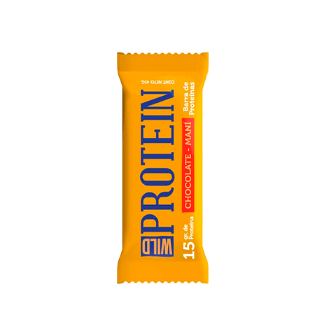 Barra Proteína 15 gr  Maní Chocolate Wild Protein