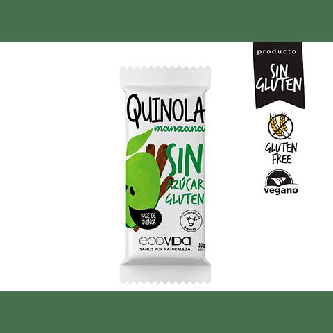 Quinola Manzana sin azúcar sin gluten 30 gr