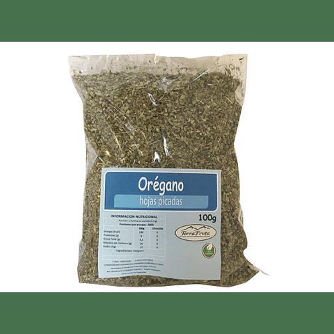 Orégano hoja  picada 100 gr - granel