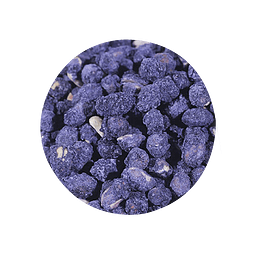 Maní Confitado sabor Arándano 200 gr - granel