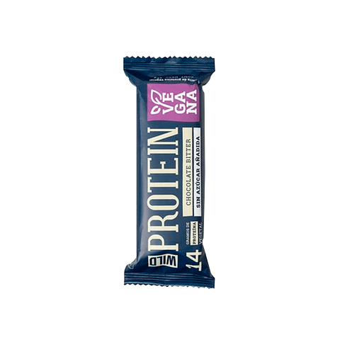 Barra Proteína 14 gr Chocolate Bitter - Vegana - 45 gr