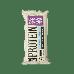 Barra Proteína 14 gr Chocolate Coco - Vegana - 45 gr
