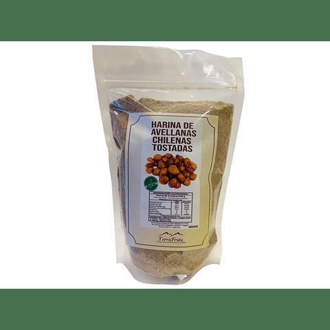 Harina de Avellanas Chilenas Tostadas 500 gr