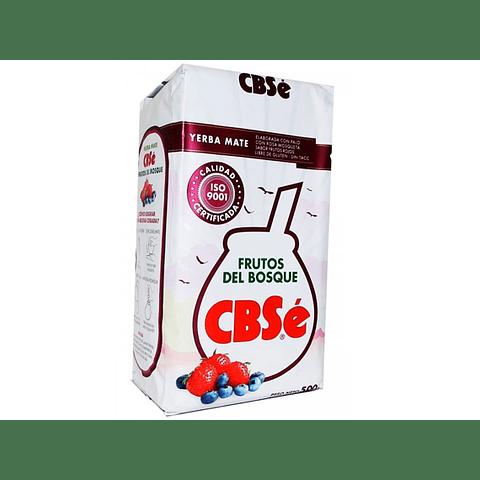 Yerba Mate CBSé Frutos del Bosque 500 gr - sin gluten